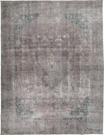 Colored Vintage Rug 292X375 Authentic  Modern Handknotted Light Grey/Dark Grey Large (Wool, Pakistan)