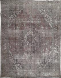Colored Vintage Rug 290X376 Authentic  Modern Handknotted Light Grey/Dark Grey/Dark Brown Large (Wool, Pakistan)