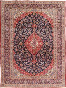 Keshan Signature : Kashan Ghotbi Rug 295X395 Authentic  Oriental Handknotted Rust Red/Dark Purple Large (Wool, Persia/Iran)