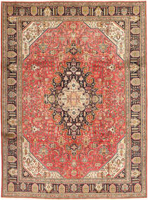 Tabriz Rug 240X335 Authentic  Oriental Handknotted Rust Red/Dark Red (Wool, Persia/Iran)