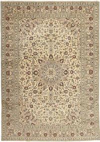 Keshan Rug 285X408 Authentic  Oriental Handknotted Light Grey/Beige Large (Wool, Persia/Iran)