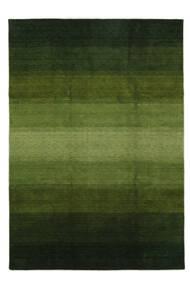 Gabbeh Rainbow - Green Rug 240X340 Modern Dark Green/Olive Green (Wool, India)