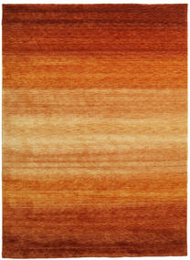 Gabbeh Rainbow - Rust Rug 210X290 Modern Rust Red/Light Brown (Wool, India)