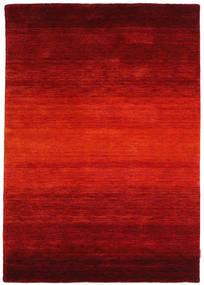 Gabbeh Rainbow - Red Rug 140X200 Modern Rust Red/Dark Red (Wool, India)