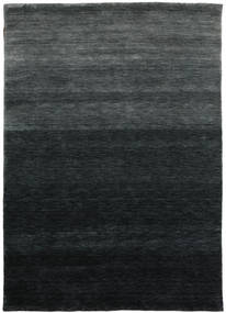Gabbeh Up To Down Rug 160X230 Modern Black/Dark Green (Wool, India)
