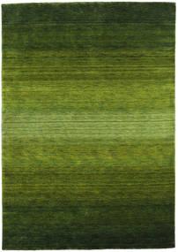 Gabbeh Rainbow - Green Rug 160X230 Modern Dark Green/Olive Green (Wool, India)