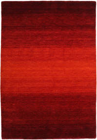 Gabbeh Rainbow - Red Rug 160X230 Modern Rust Red/Dark Red/Dark Brown (Wool, India)