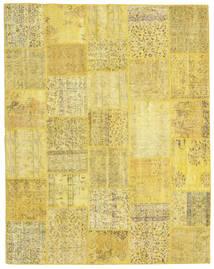 Patchwork Rug 199X253 Authentic  Modern Handknotted Yellow/Dark Beige (Wool, Turkey)