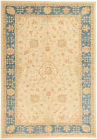 Ziegler Rug 169X248 Authentic  Oriental Handknotted Dark Beige/Beige (Wool, Pakistan)