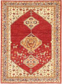 Ziegler Rug 155X215 Authentic  Oriental Handknotted Rust Red/Beige (Wool, India)