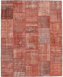 Patchwork Rug 198X249 Authentic  Modern Handknotted Dark Red/Crimson Red (Wool, Turkey)