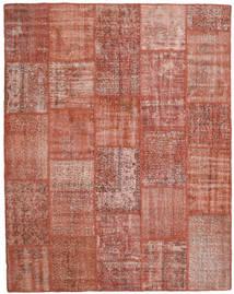 Patchwork Rug 200X253 Authentic  Modern Handknotted Dark Red/Light Pink (Wool, Turkey)