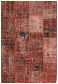 Patchwork Rug 159X232 Authentic  Modern Handknotted Dark Red/Light Brown (Wool, Turkey)