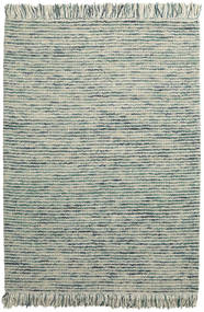 Dolly Multi - Mixed Blue Rug 160X230 Authentic  Modern Handwoven Light Grey/Turquoise Blue (Wool, India)