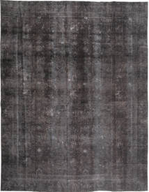 Colored Vintage Rug 268X353 Authentic  Modern Handknotted Dark Grey/Black Large (Wool, Pakistan)