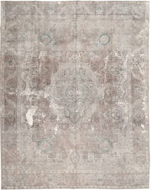Colored Vintage Rug 295X369 Authentic  Modern Handknotted Light Grey Large (Wool, Pakistan)