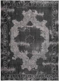 Colored Vintage Rug 248X343 Authentic  Modern Handknotted Dark Grey/Black/Dark Brown (Wool, Persia/Iran)