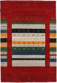 Loribaf Loom Designer Rug 120X180 Modern Dark Red/Light Grey (Wool, India)