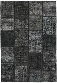 Patchwork Rug 159X231 Authentic  Modern Handknotted Dark Green/Dark Grey (Wool, Turkey)