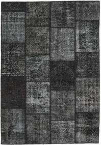 Patchwork Rug 159X232 Authentic  Modern Handknotted Dark Grey/Dark Green (Wool, Turkey)