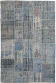 Patchwork Rug 203X306 Authentic  Modern Handknotted Dark Grey/Light Grey (Wool, Turkey)