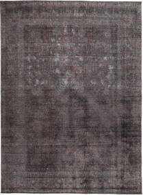 Colored Vintage Rug 273X331 Authentic  Modern Handknotted Black/Brown Large (Wool, Pakistan)