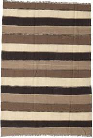 Kilim Rug 170X250 Authentic  Oriental Handwoven Brown/Dark Brown/Beige (Wool, Persia/Iran)