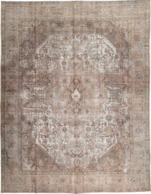 Colored Vintage Rug 297X383 Authentic  Modern Handknotted Light Grey Large (Wool, Pakistan)