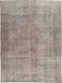 Colored Vintage Rug 281X393 Authentic  Modern Handknotted Light Grey Large (Wool, Pakistan)