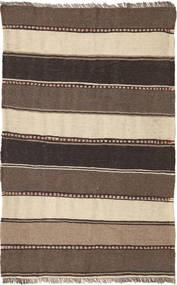 Kilim Rug 80X128 Authentic  Oriental Handwoven Dark Brown/Brown/Beige (Wool, Persia/Iran)