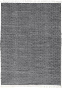 Diamond Wool - Black Rug 160X230 Authentic  Modern Handwoven Dark Grey/Light Grey (Wool, India)