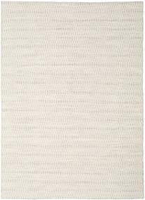 Kilim Long Stitch - Beige Rug 210X290 Authentic  Modern Handwoven Light Grey/Beige (Wool, India)
