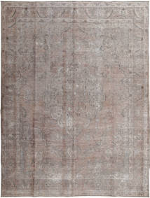 Colored Vintage Rug 296X393 Authentic  Modern Handknotted Light Grey/Dark Grey Large (Wool, Pakistan)