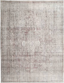 Colored Vintage Rug 283X362 Authentic  Modern Handknotted Light Grey Large (Wool, Pakistan)