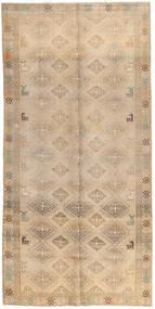 Vintage Rug 142X286 Authentic  Modern Handknotted Beige/Light Brown/Dark Beige (Wool, Pakistan)