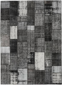 Patchwork Rug 253X350 Authentic  Modern Handknotted Dark Grey/Light Grey Large (Wool, Turkey)