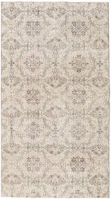 Colored Vintage Rug 116X210 Authentic  Modern Handknotted Light Grey/Beige (Wool, Turkey)