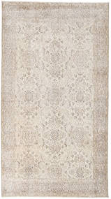 Colored Vintage Rug 115X208 Authentic  Modern Handknotted Light Grey/Beige (Wool, Turkey)