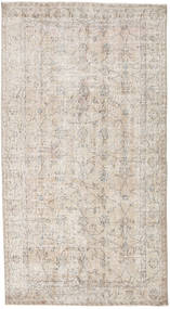 Colored Vintage Rug 114X211 Authentic  Modern Handknotted Light Grey (Wool, Turkey)
