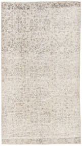 Colored Vintage Rug 116X206 Authentic  Modern Handknotted Light Grey (Wool, Turkey)