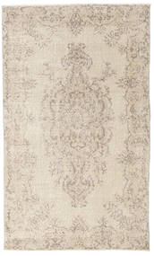 Colored Vintage Rug 116X197 Authentic  Modern Handknotted Light Grey/Beige (Wool, Turkey)