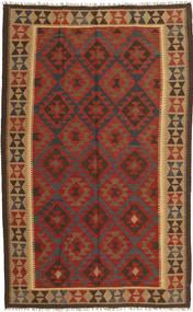 Kilim Maimane Rug 154X249 Authentic Oriental Handwoven Dark Red/Dark Brown (Wool, Afghanistan)