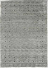 Loribaf Loom Delta - Grey Rug 160X230 Modern Light Grey/Turquoise Blue (Wool, India)