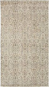 Colored Vintage Rug 114X202 Authentic  Modern Handknotted Light Grey/Dark Beige (Wool, Turkey)