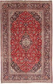 Keshan Rug 193X313 Authentic  Oriental Handknotted Dark Red/Brown (Wool, Persia/Iran)
