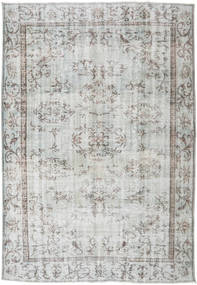 Colored Vintage Rug 184X271 Authentic  Modern Handknotted Light Grey (Wool, Turkey)