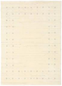 Loribaf Loom Delta - Natural Rug 140X200 Modern Beige/White/Creme (Wool, India)