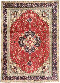 Tabriz Rug 245X340 Authentic  Oriental Handknotted Rust Red/Dark Red (Wool, Persia/Iran)