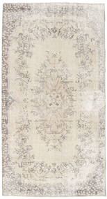 Colored Vintage Rug 120X222 Authentic  Modern Handknotted Light Grey/Beige (Wool, Turkey)