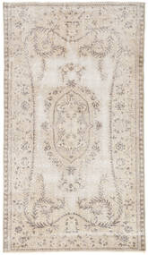 Colored Vintage Rug 115X202 Authentic  Modern Handknotted Light Grey/Beige (Wool, Turkey)
